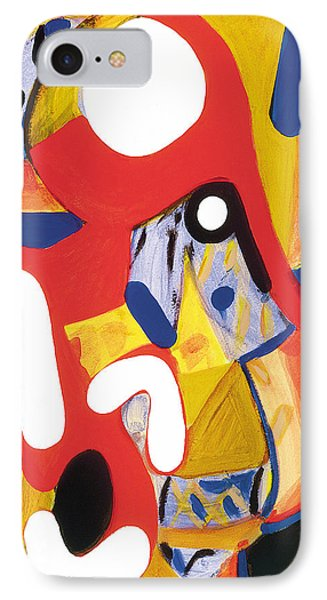 IPhone Case featuring the painting Mirror Of Me 2 by Stephen Lucas