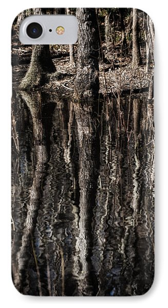 IPhone Case featuring the photograph Mirrored Trees by Zoe Ferrie