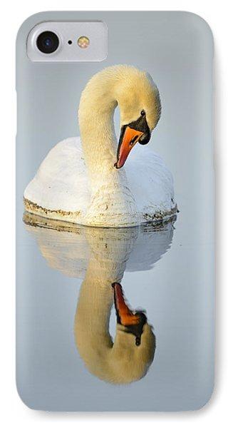 Mirroring Swan IPhone Case by Andy-Kim Moeller