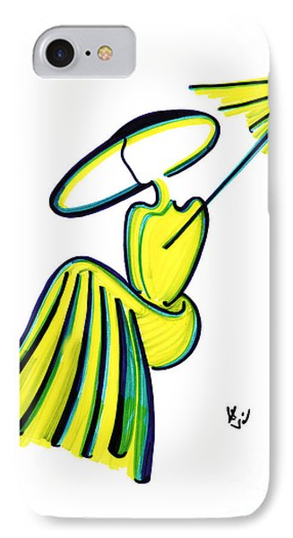 Miss Deauville IPhone Case