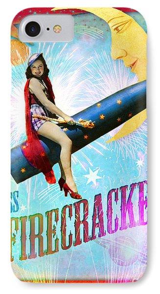 Miss Fire Cracker IPhone Case
