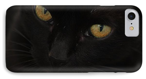 IPhone Case featuring the photograph Miss Golden Eyes  by Amy Gallagher