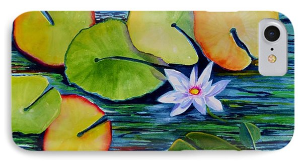 Whimsical Waterlily IPhone Case