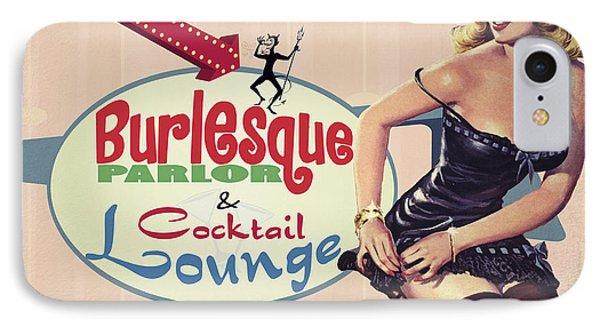 Miss Tabithas Burlesque Parlor Phone Case by Cinema Photography