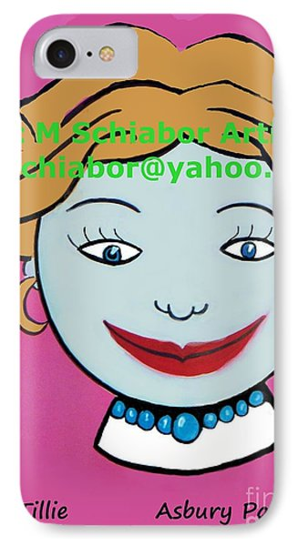 Miss Tillie Phone Case by Eric  Schiabor