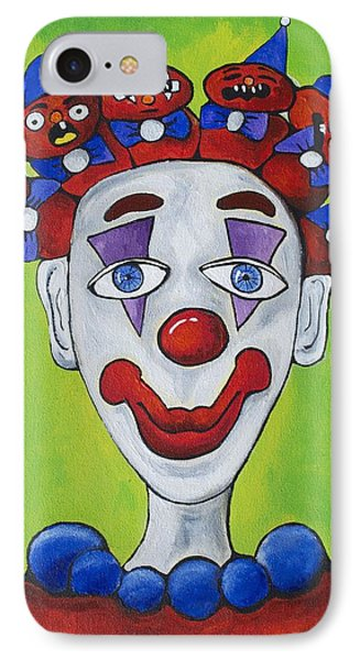 Miss.curly Clown Phone Case by Patricia Arroyo