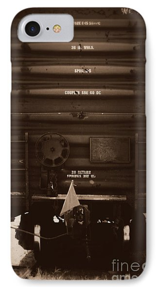 Missing It's Caboose Phone Case by Deborah Fay