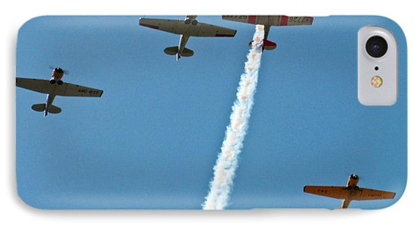 IPhone Case featuring the photograph Missing Man Flyover by Allen Sheffield