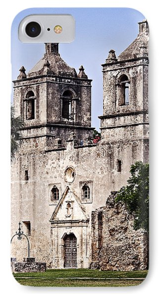 IPhone Case featuring the photograph Mission Concepcion by Andy Crawford