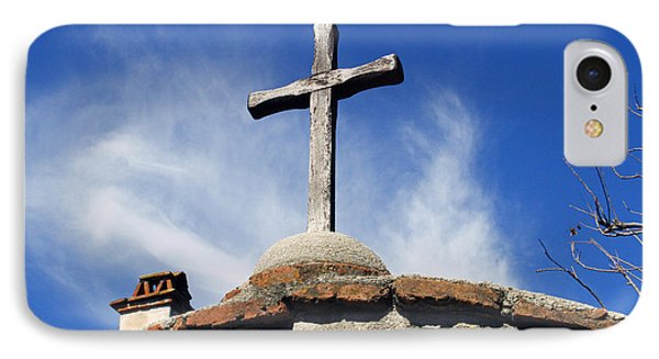 Mission Cross IPhone Case by Shoal Hollingsworth