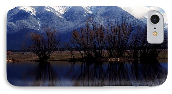 Mission Mountains Montana Phone Case by Thomas R Fletcher