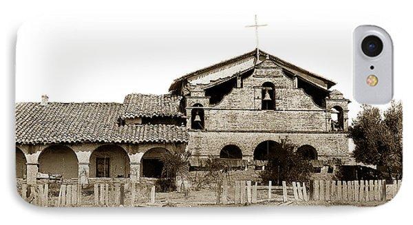 Mission San Antonio De Padua California Circa 1885 IPhone Case by California Views Mr Pat Hathaway Archives