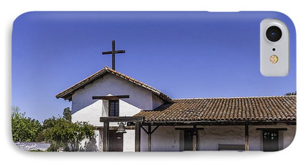 Mission San Francisco Solano IPhone Case by Karen Stephenson
