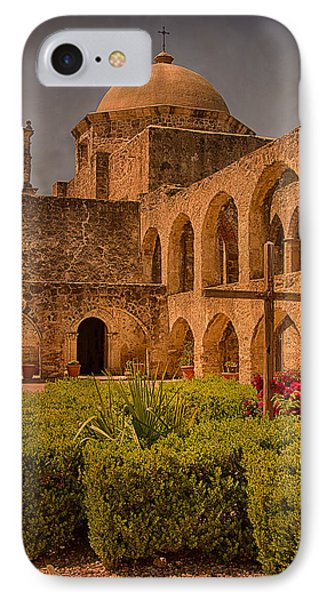 Mission San Jose Church IPhone Case by Priscilla Burgers