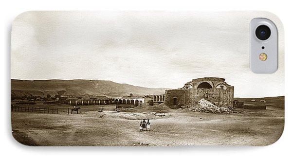 Mission San Juan Capistrano California Circa 1882 By C. E. Watkins IPhone Case by California Views Mr Pat Hathaway Archives