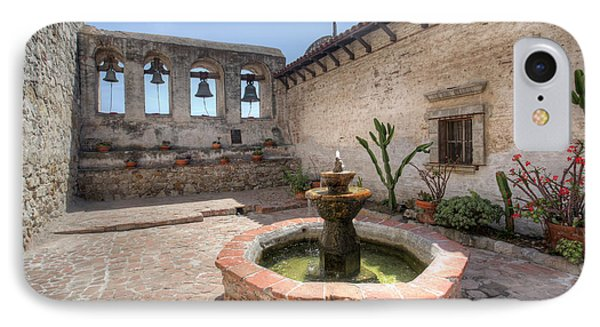 IPhone Case featuring the photograph Mission Bells San Juan Capistrano by Martin Konopacki