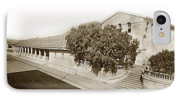 Mission San Luis Obispo De Tolosa California 1880  IPhone Case by California Views Mr Pat Hathaway Archives
