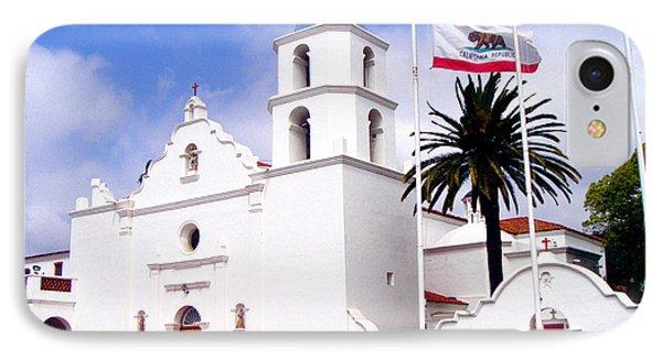 Mission San Luis Rey Phone Case by Jerome Stumphauzer