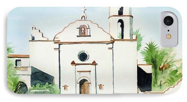 Mission San Luis Rey  Phone Case by Kip DeVore