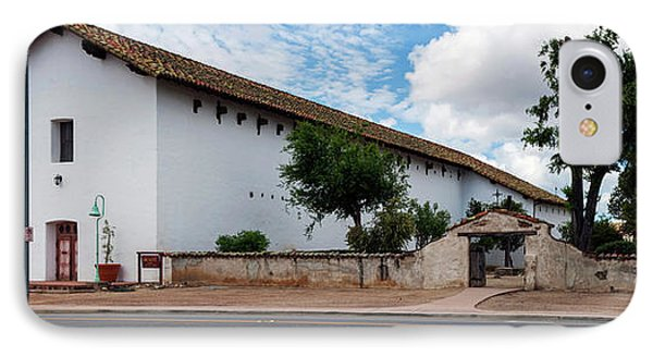 Mission San Miguel Church At Roadside IPhone Case