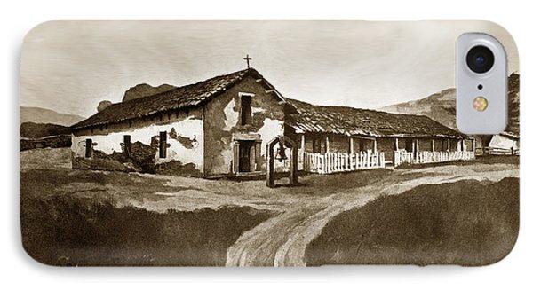 Mission San Rafael California  Circa 1880 IPhone Case by California Views Mr Pat Hathaway Archives