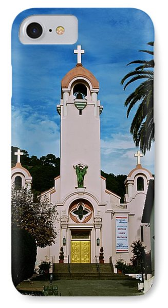 Mission San Rafael IPhone Case by Eric Tressler