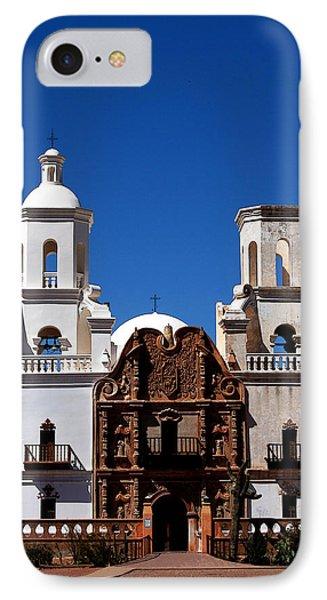 Mission San Xavier Del Bac IPhone Case by Joe Kozlowski