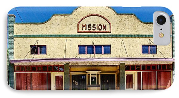 Mission Theater Phone Case by Gary Richards