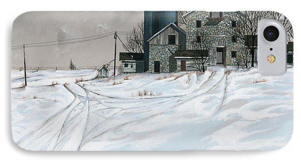Mission Valley Farmstead IPhone Case by John Wyckoff