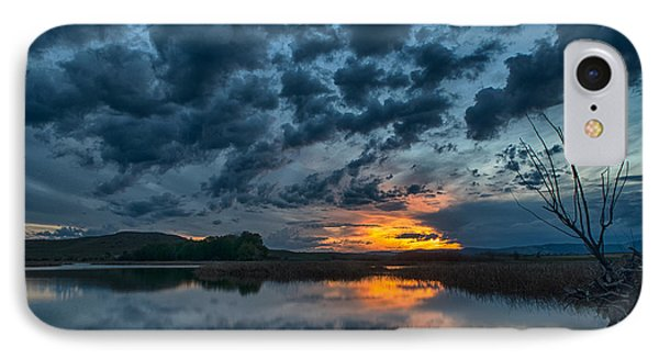Mission Valley Sunset IPhone Case