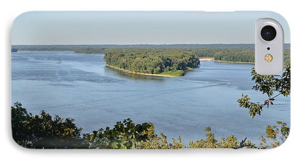 Mississippi River Overlook IPhone Case by Luther Fine Art