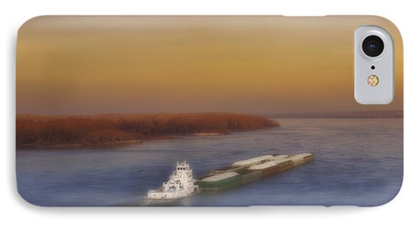 Mississippi Sunset IPhone Case by Ellen Heaverlo