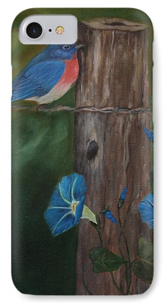Missouri Blue Bird II IPhone Case