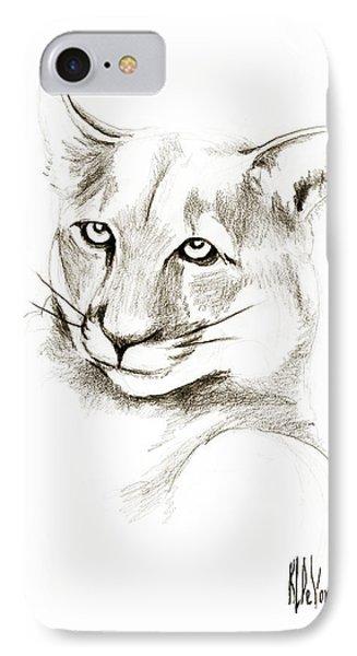 Missouri Mountain Lion II Phone Case by Kip DeVore