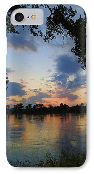 Missouri River Glow IPhone Case by Cricket Hackmann