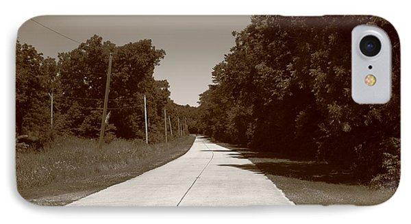 Missouri Route 66 2012 Sepia. Phone Case by Frank Romeo