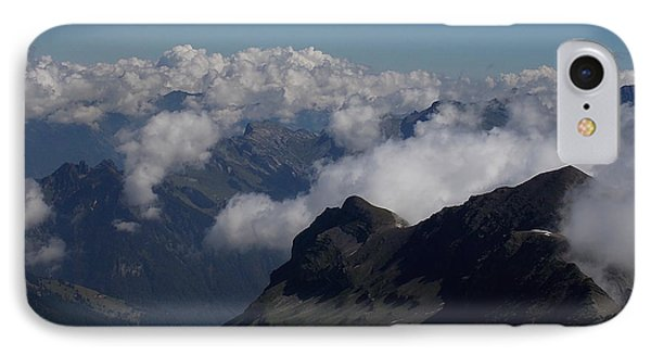 Mist From The Schilthorn IPhone Case