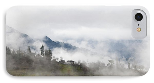 IPhone Case featuring the photograph Mist by Gouzel -