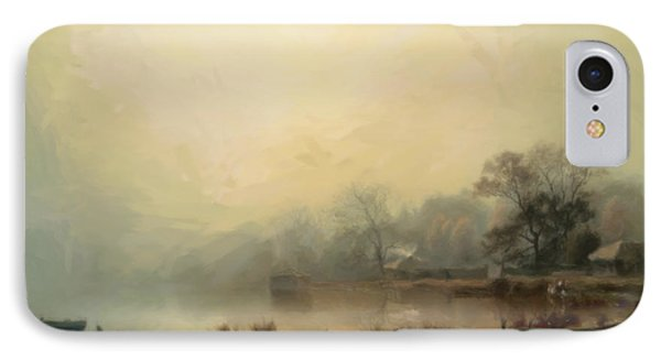 Mist In The Morning IPhone Case by Georgiana Romanovna