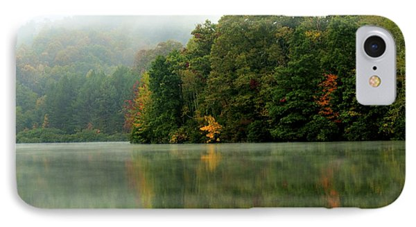 Mist On The  Lake Phone Case by Thomas R Fletcher