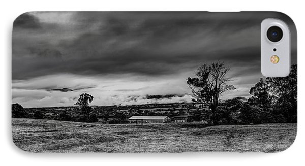 Mist On The Plains IPhone Case by Mark Lucey