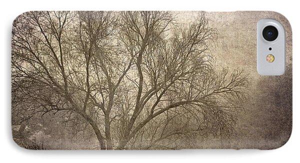Mist Tree Phone Case by Guido Montanes Castillo