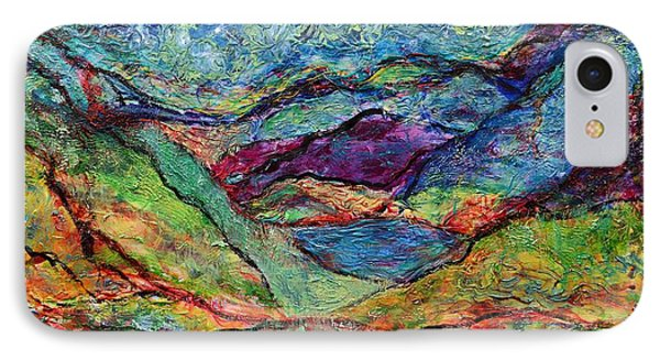 Misted Mountains Phone Case by Regina Valluzzi