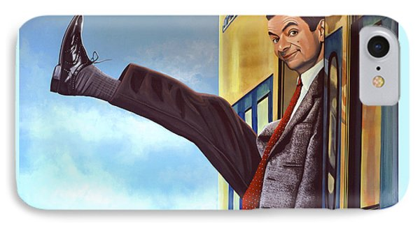 Mister Bean IPhone Case by Paul Meijering