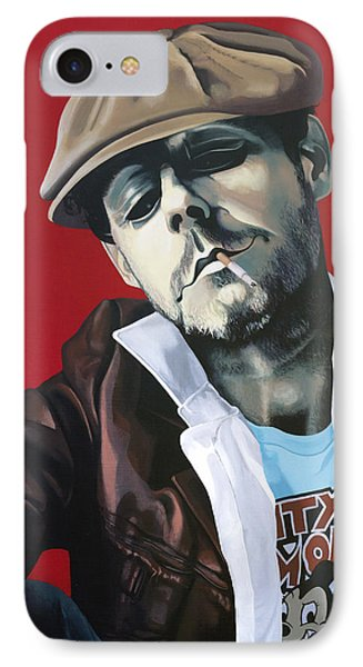 Mister King IPhone Case by Kelly Jade King