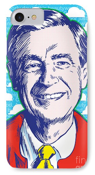 Mister Rogers Pop Art IPhone Case