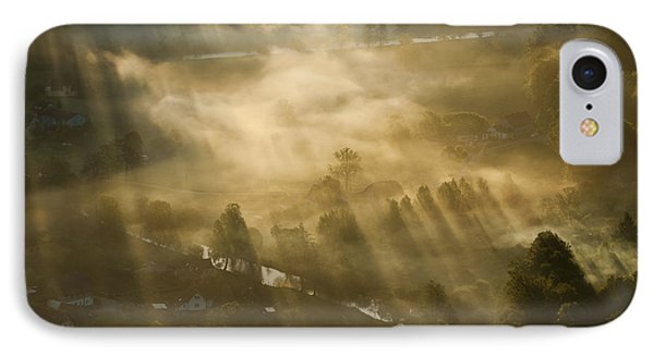 Mist,light And Silence. IPhone Case