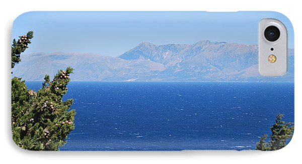 IPhone Case featuring the photograph Mistral Wind by George Katechis