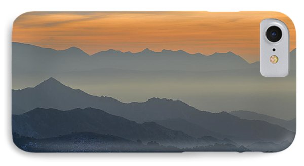 Mists In The Mountains At Sunset Phone Case by Guido Montanes Castillo