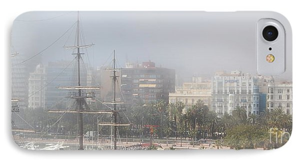 Misty Alicante IPhone Case by Linda Prewer